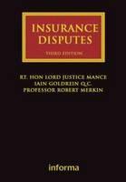 Insurance Disputes - ISBN 9781843119579