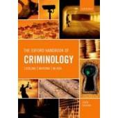 The Oxford Handbook of Criminology - ISBN 9780198719441