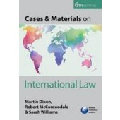 Cases & Materials on International Law - ISBN 9780198727644