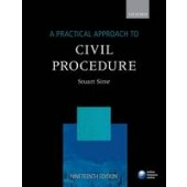 A Practical Approach to Civil Procedure - ISBN 9780198747673