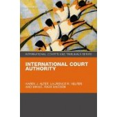 International Court Authority - ISBN 9780198795599