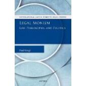 Legal Monism: Law, Philosophy, and Politics - ISBN 9780198796268