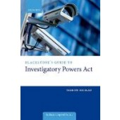 Blackstone's Guide to the Investigatory Powers Act 2016 - ISBN 9780198801757