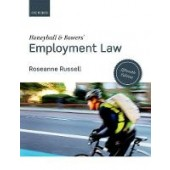 Honeyball & Bowers' Employment Law - ISBN 9780198812012