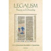 Legalism: Property and Ownership - ISBN 9780198813415