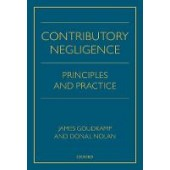 Contributory Negligence: Principles and Practice - ISBN 9780198814238