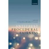 Antitrust Procedural Fairness - ISBN 9780198815426