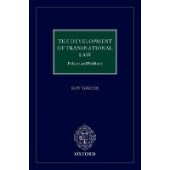 The Development of Transnational Law: Policies and Problems - ISBN 9780198825814