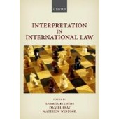 Interpretation in International Law - ISBN 9780198828716