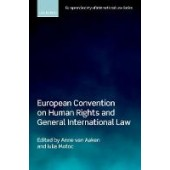 European Convention on Human Rights and General International Law - ISBN 9780198830009