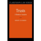 Trusts: A Modern Analysis - ISBN 9780199272594