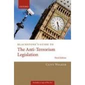 Blackstone's Guide to the Anti-Terrorism Legislation - ISBN 9780199677924