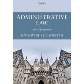 Administrative Law - ISBN 9780199683703