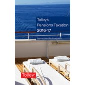 Tolley's Pensions Taxation 2016-2017 - ISBN 9780754552642