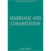 Marriage and Cohabitation: Regulating Intimacy, Affection and Care - ISBN 9780754626800