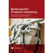 Butterworths Property Insolvency - ISBN 9781405780995