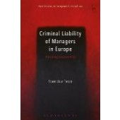 Criminal Liability of Managers in Europe: Punishing Excessive Risk - ISBN 9781509914975