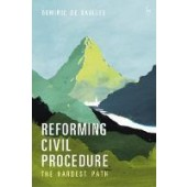 Reforming Civil Procedure: The Hardest Path - ISBN 9781509925902