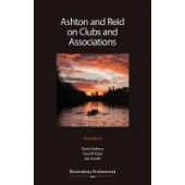 Ashton & Reid on Clubs and Associations - ISBN 9781526505163