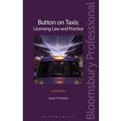 Button on Taxis: Licensing Law and Practice - ISBN 9781780434933