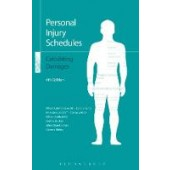Personal Injury Schedules: Calculating Damages - ISBN 9781784517267