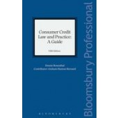 Consumer Credit Law and Practice - A Guide - ISBN 9781784518363