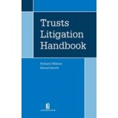 Trusts Litigation Handbook - ISBN 9781846612022