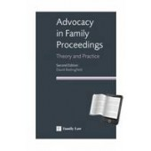 Advocacy in Family Proceedings: Theory and Practice - ISBN 9781846612985