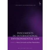 Documents in International Environmental Law - ISBN 9781849466189