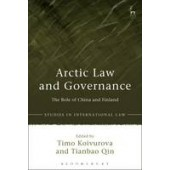 Arctic Law and Governance: The Role of China and Finland - ISBN 9781849467025
