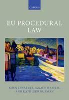 EU Procedural Law - ISBN 9780198707349