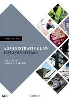 Administrative Law: Text and Materials - ISBN 9780198719465