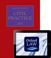 Blackstone's Civil Practice: 2015 - ISBN 9780198726210