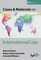 Cases & Materials on International Law - ISBN 9780198727644