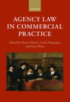 Agency Law in Commercial Practice - ISBN 9780198738473
