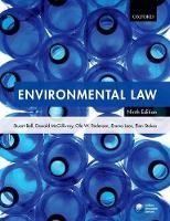 Environmental Law - ISBN 9780198748328