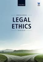 Legal Ethics - ISBN 9780198788928