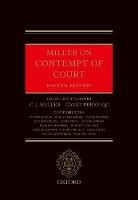 Miller on Contempt of Court - ISBN 9780198793465