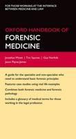 Oxford Handbook of Forensic Medicine - ISBN 9780199229949