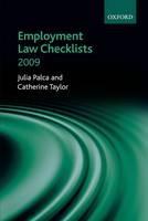 Employment Law Checklists - ISBN 9780199547470