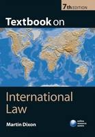 Textbook on International Law - ISBN 9780199574452