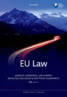 European Union Law - ISBN 9780199639816