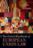 The Oxford Handbook of European Union Law - ISBN 9780199672653