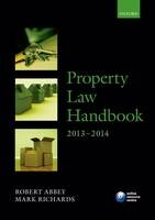 Property Law Handbook: 2013-2014 - ISBN 9780199676491