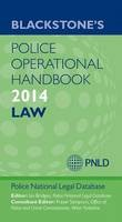 Blackstone's Police Operational Handbook: Law: 2014 - ISBN 9780199681860