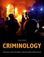 Criminology - ISBN 9780199691296
