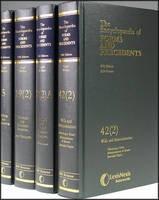 Encyclopaedia of Forms and Precedents - ISBN 9780406044242