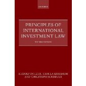 Principles of International Investment Law - ISBN 9780192857811
