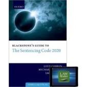 Blackstone's Guide to the Sentencing Code 2020 Digital Pack - ISBN 9780192896971