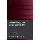 Enhanced Cooperation and European Tax Law - ISBN 9780192898272